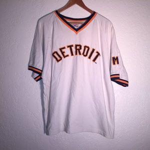 Other - Vintage Detroit Tigers Ringer size Large